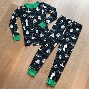 hanna andersson pajamas nwot hanna anderson star wars christmas pajamas